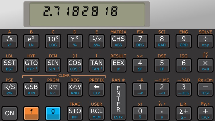 Touch 15i scientific RPN calculator screenshot-0