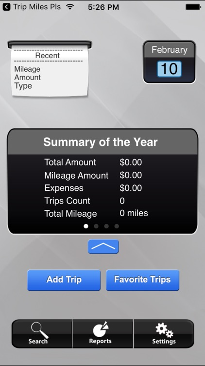 Trip Miles (IRS Mileage log)