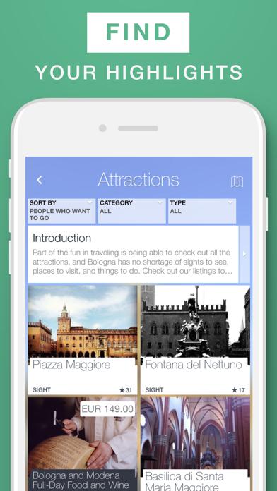 Bologna - Travel Guide & Offline Map screenshot two
