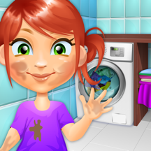 Clean The Kids - Girls & Boys Baby Salon Games