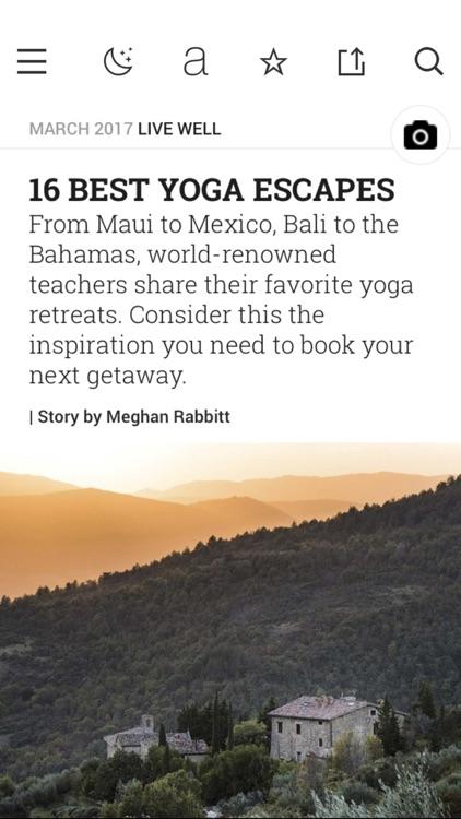Yoga Journal screenshot-4