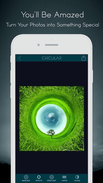Circular Tiny Planet Editor screenshot-3