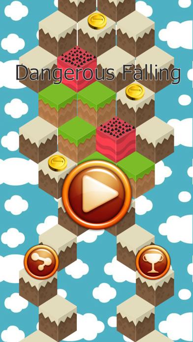 Dangerous Falling screenshot one