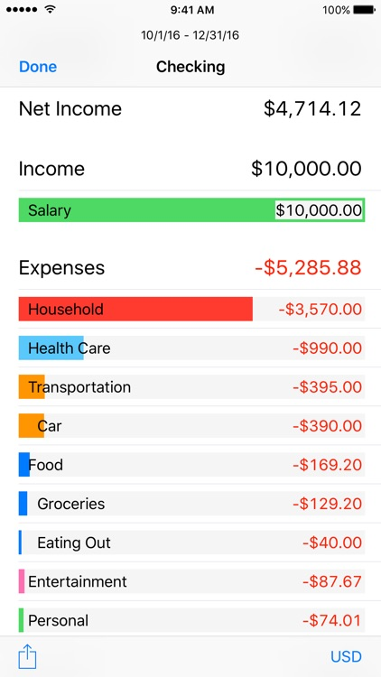 Finances – Personal and Business Bookkeeping screenshot-3