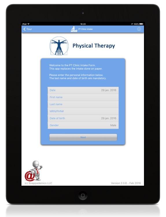 PT Clinic Intake