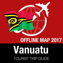 Vanuatu Tourist Guide + Offline Map