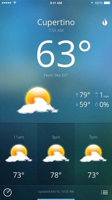 Today Weather screenshot1