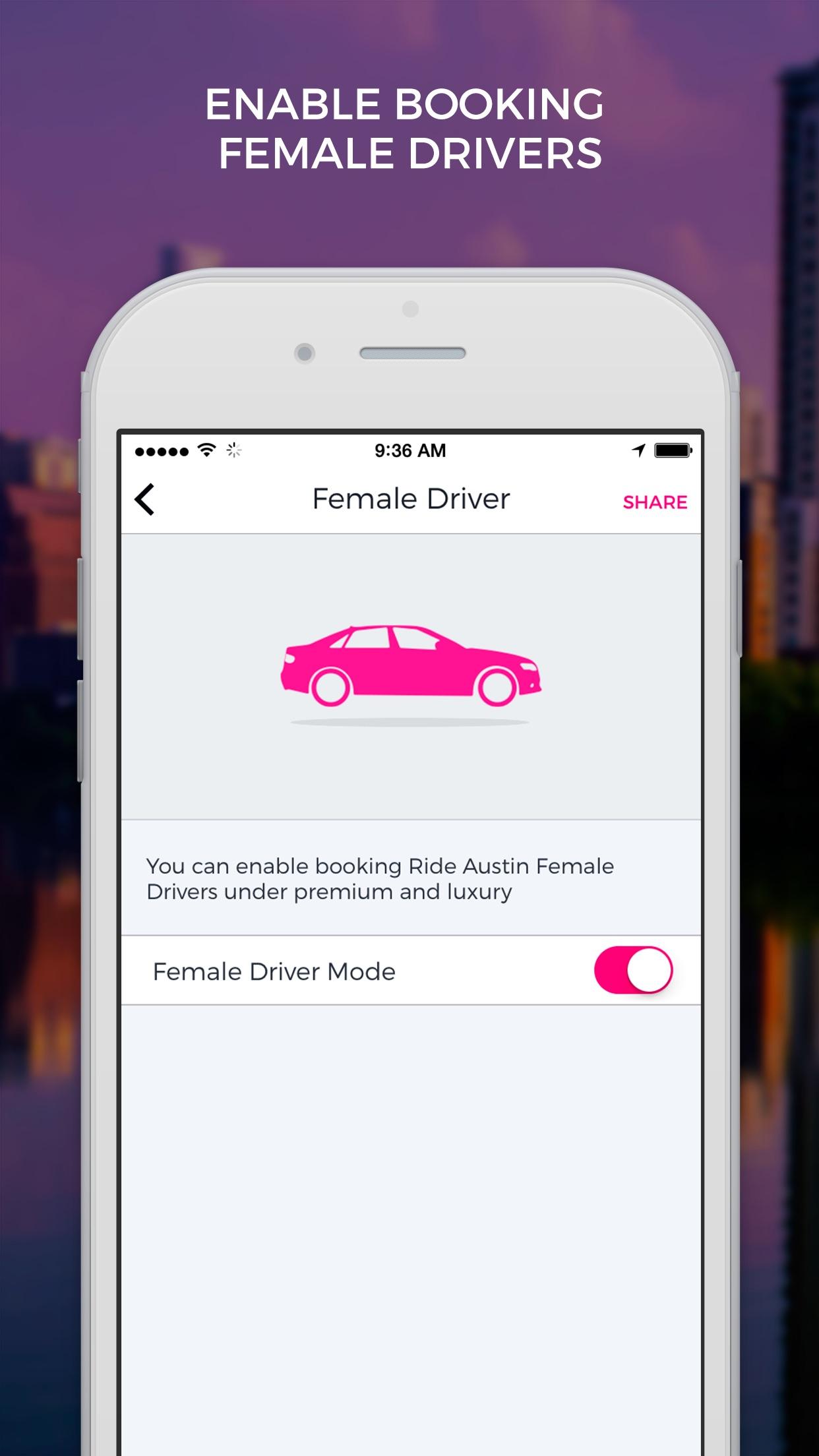 Ride Austin Non-Profit TNC Screenshot