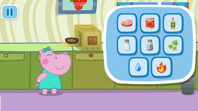 Baby Cooking: Kids Cafe. Premium 1