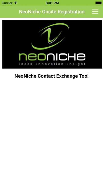 NeoNiche app image