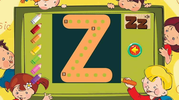Learning ABC Tracing Flashcards Phonic for Kids screenshot-3