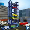 Multi Level Car Parking Crane Driving Simulator 3D