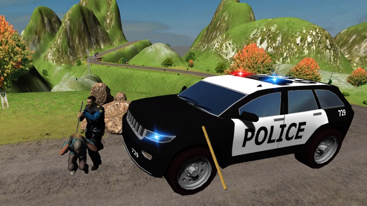Hill Police vs Gangsters Chase screenshot-4