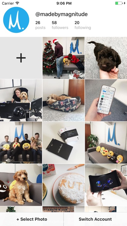 Snug for Instagram - Preview your photos