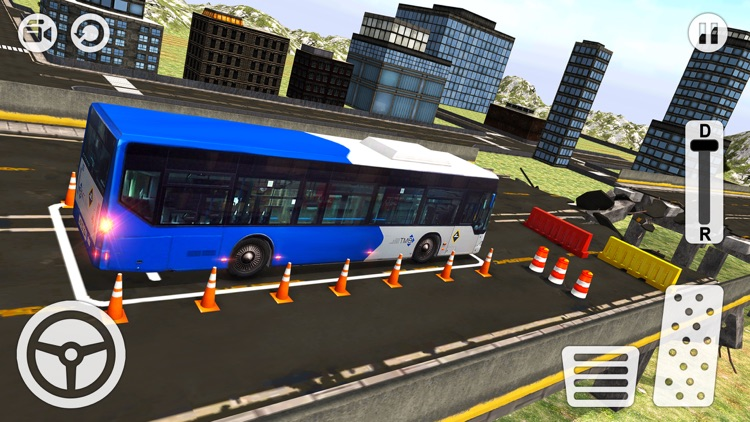 New York City Bus Parking 3D - Driving Simulator