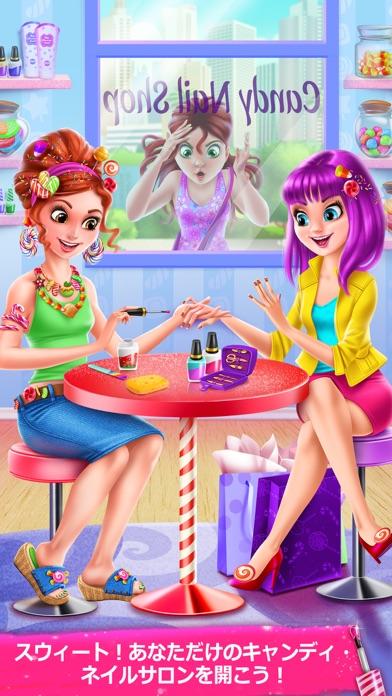 キャンディ・ネイルアート - スウィートなファッション・エステのゲームのスクリーンショット1