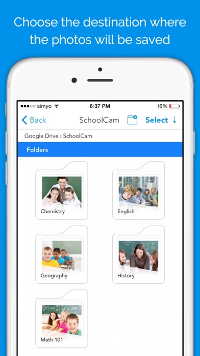 SchoolCam - Camera for Google Drive and Classroom