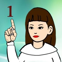 American Sign Language Number