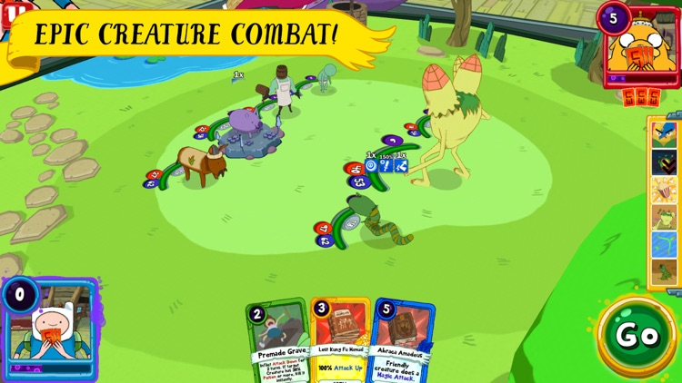 Card Wars Kingdom - Adventure Time screenshot-1