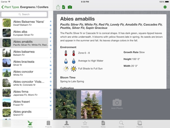 Landscaper's Companion for iPad screenshot one
