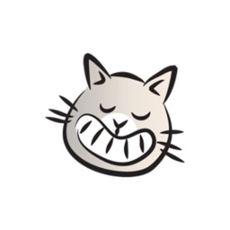 Funny Colorful Cat stickers by wenpei