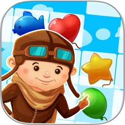 Balloon Match 3: Paradise Pop - Puzzle Game