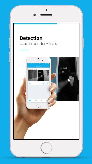 Misafecam Screenshot on iOS