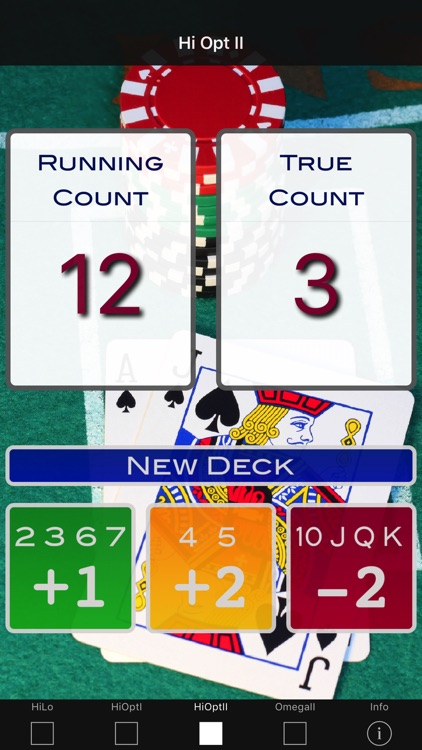 A Blackjack Card Counter - Professional screenshot-2