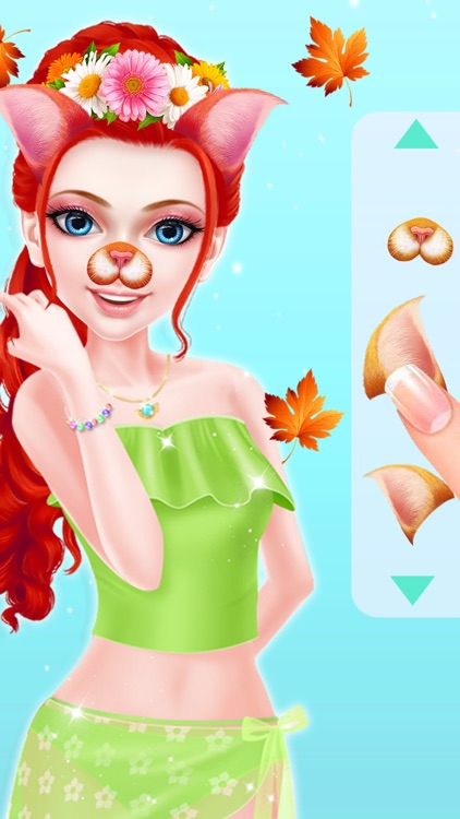 Summer Girl Makeup and Dressup