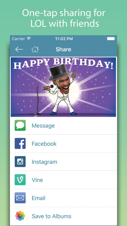 Birthday Cards - Happy Birthday Greetings & Frames screenshot-3
