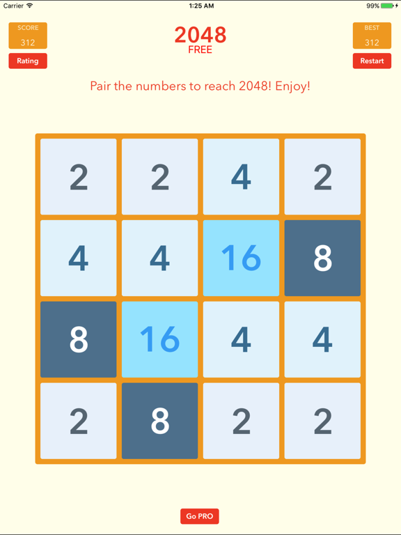 2048 Best Free 4x4 Block Logic Puzzle for Everyone   App Price Drops