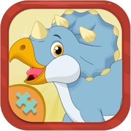 Dinosaurs Jigsaw for kids