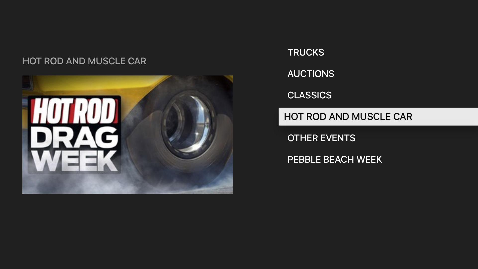MotorTrend: Stream Car Shows screenshot 12