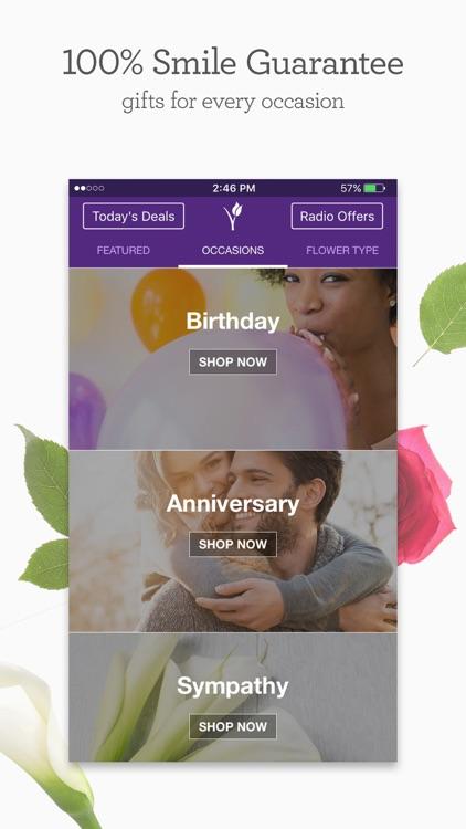 1-800-Flowers.com: Send flowers, bouquets, & gift screenshot-3