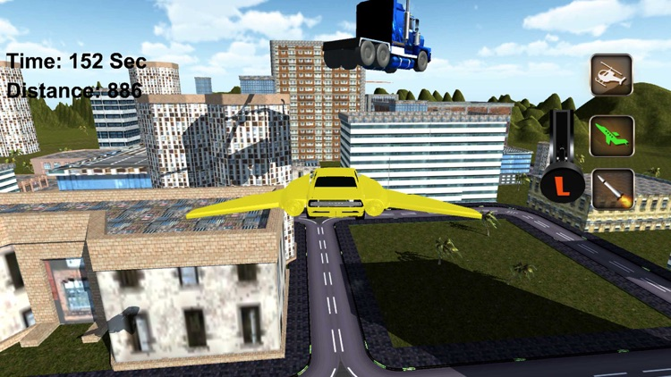 Real Flying Sports Car Driving Simulator Games