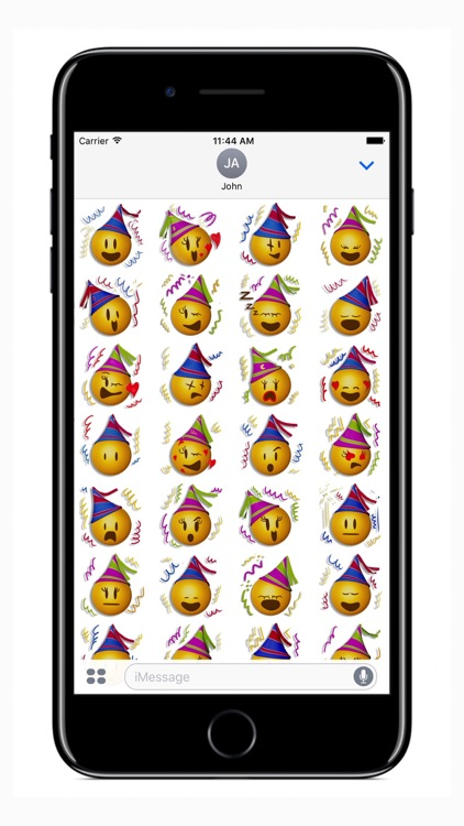 Happy New Year Emoji Stickers