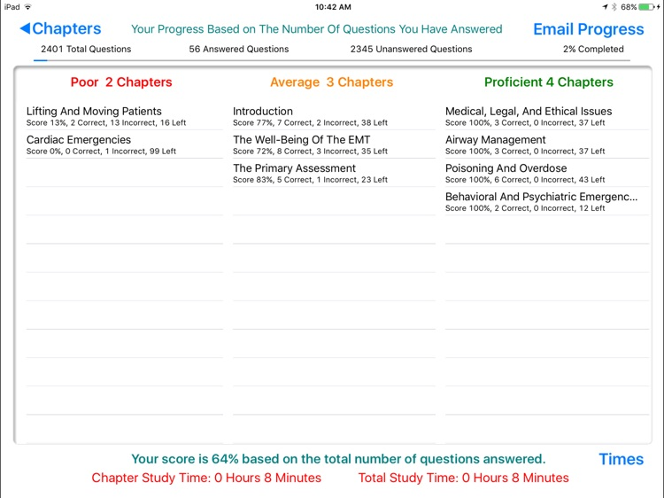 EMT Study Helper 7.0 screenshot-4