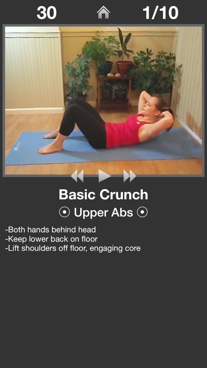 Daily Ab Workout Lite Screenshot