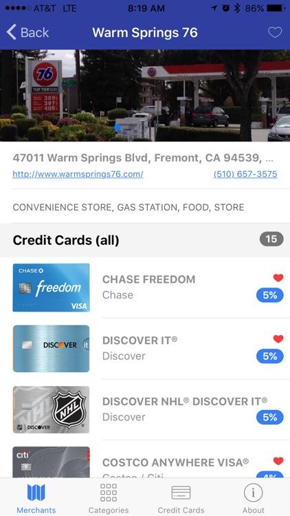 CCPicks - Credit Card Picker