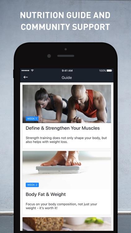 Runtastic Results: Workout & Bodyweight Training screenshot-3