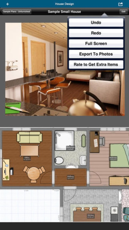 Home Office Design - floor plan & draft design screenshot-4