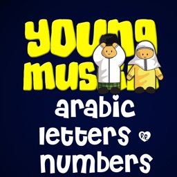 YoungMuslim Arabic Letters and Arabic Numbers