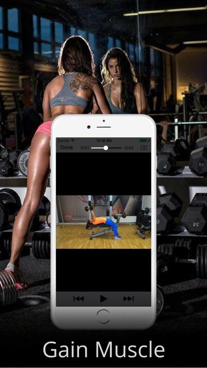 Dumbbell Workout Routine & Exercises Training screenshot-3
