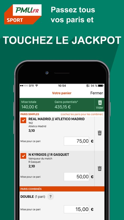 PMU Sport - Paris sportifs et cotes en direct screenshot-4