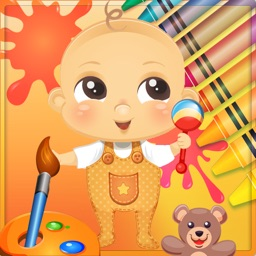 Baby Paint Book - Drawing pad game for kids