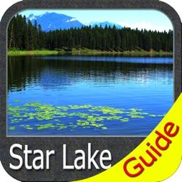 Star Lake New York GPS chart fishing map navigator