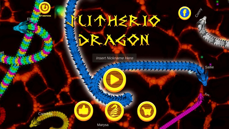 Slitherio Dragon screenshot-3