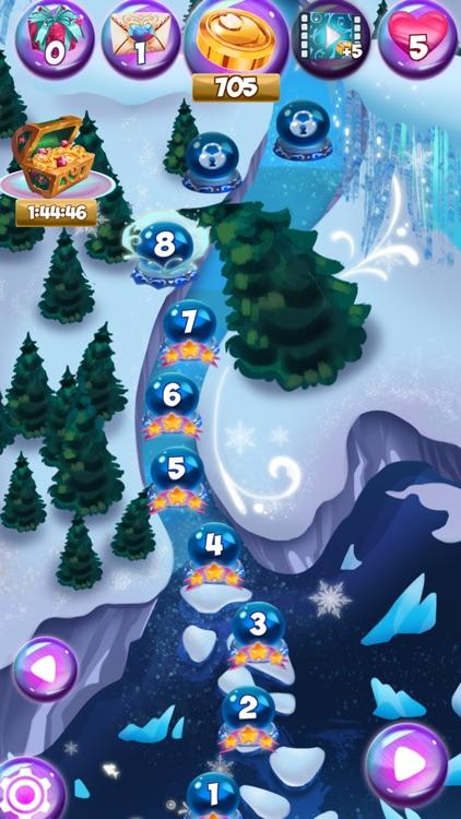 Bunny Frozen Jewels Match 3 screenshot-3