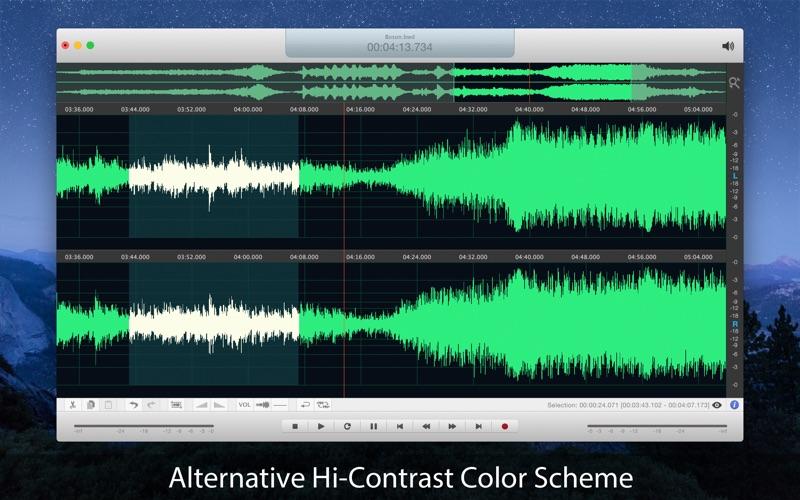 Boson - Audio Editor Screenshots