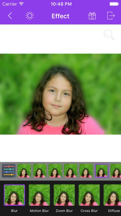 Screenshot #8 for Photo Focus Effects : Blur Image Background